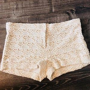 Express Lace Shorts - Size 10